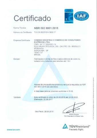 TUV 19.0591 CABO FLEXPEX UNIPOLAR MULTIPOLAR 061KV C5