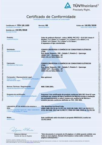 TUV 19.0590 CABO FLEXATOX UNIPOLAR MULTIPOLAR 061KV c5